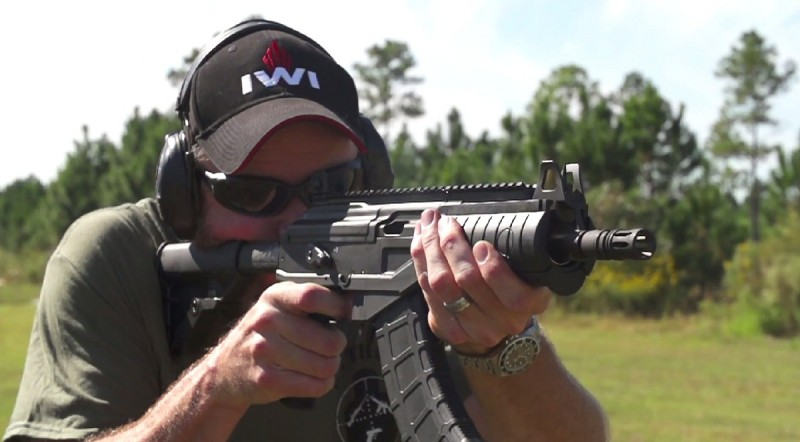 Tim from Military Arms Channel shoots a short-barreled rifle (SBR) version of the Galil ACE pistol in 7.62x39mm