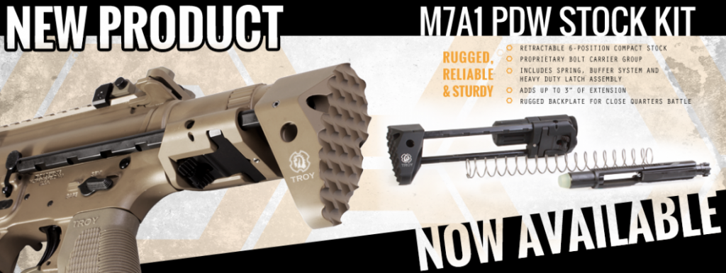 troy industries m7a1 pdw stock kit