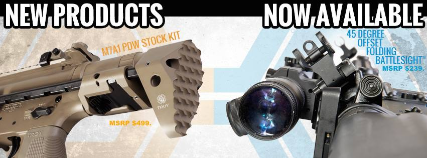 Troy Industries new products