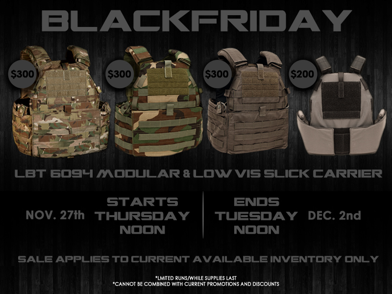 LBT Black Friday Plate Carrier Deals