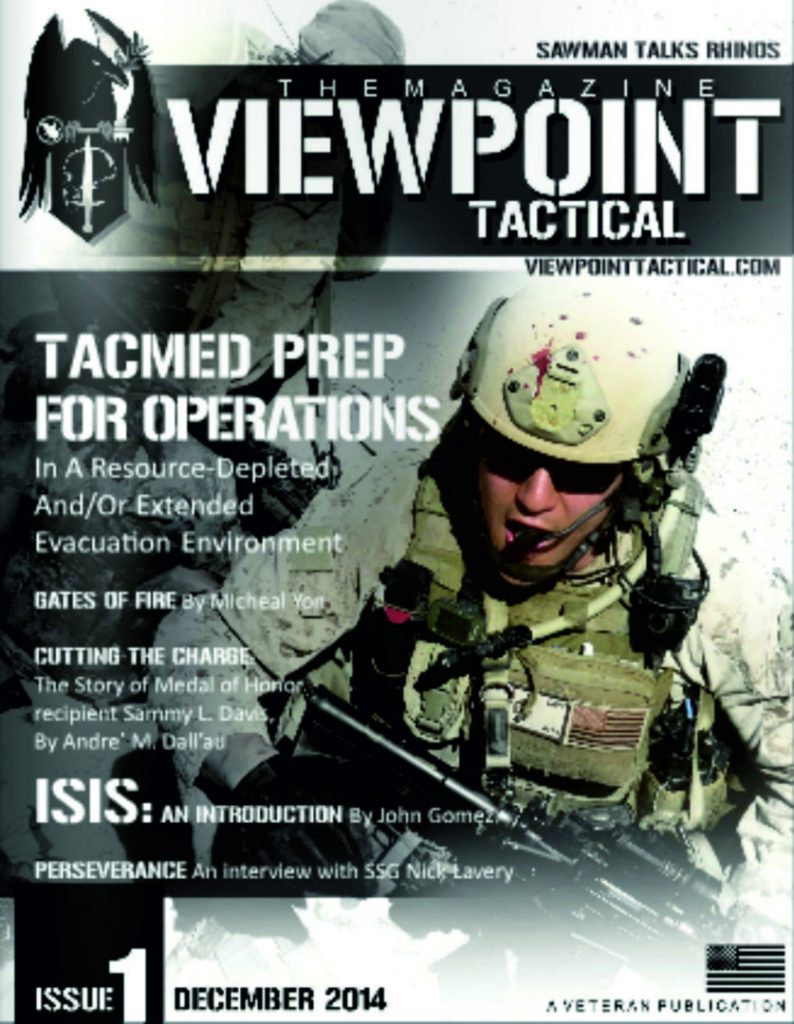 viewpoint tactical magazine issue 1 cover
