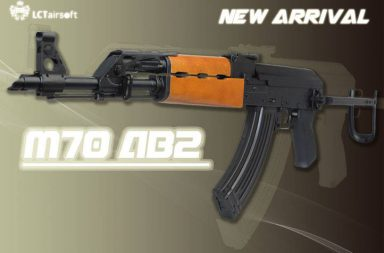 LCT AIRSOFT // ZASTAVA M70AB2 RELEASED