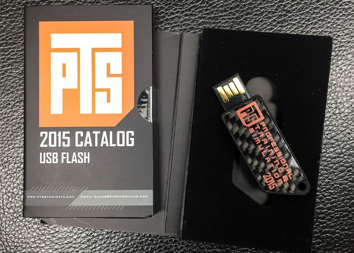PTS Syndicate 2015 USB Catalog