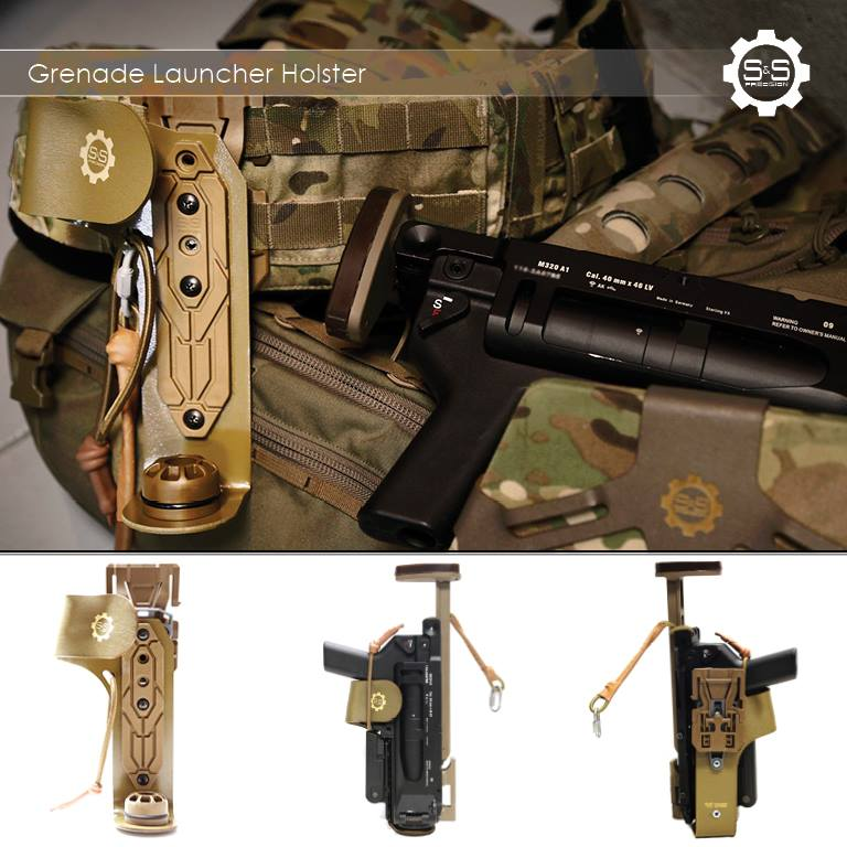 S&S Precision M320 Grenade Launcher Holster