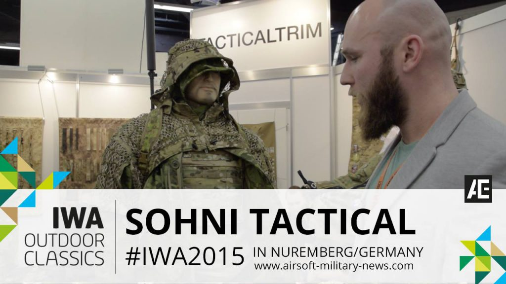 IWA 2015 // Sohni Tactical Ghillie, Direct Action and S&R Clothing