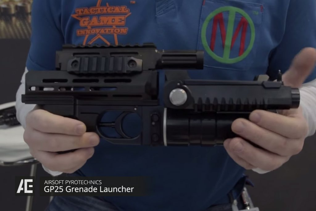 GP25 Airsoft Grenade Launcher