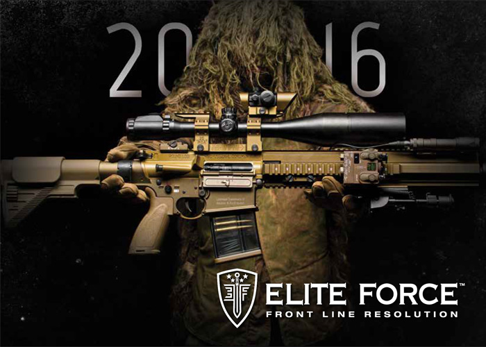 Elite Force 2016 Catalog Cover