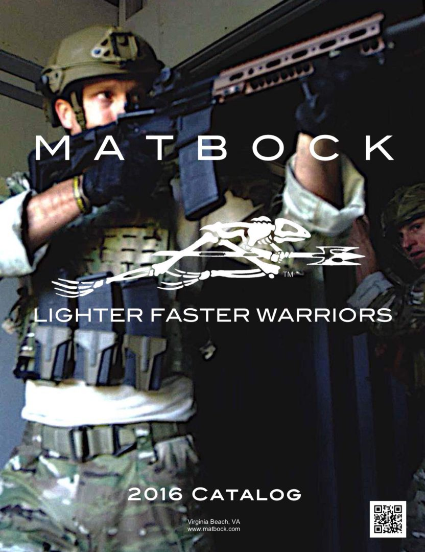 MATBOCK 2016 Catalog Cover