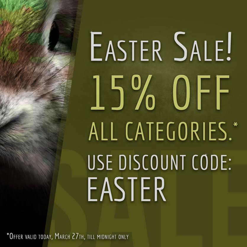 Military 1st​ Easter Sale