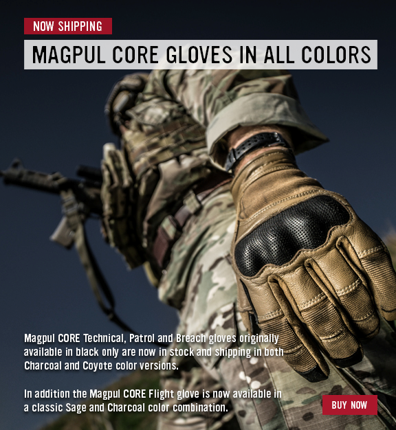 magpul core gloves all colors