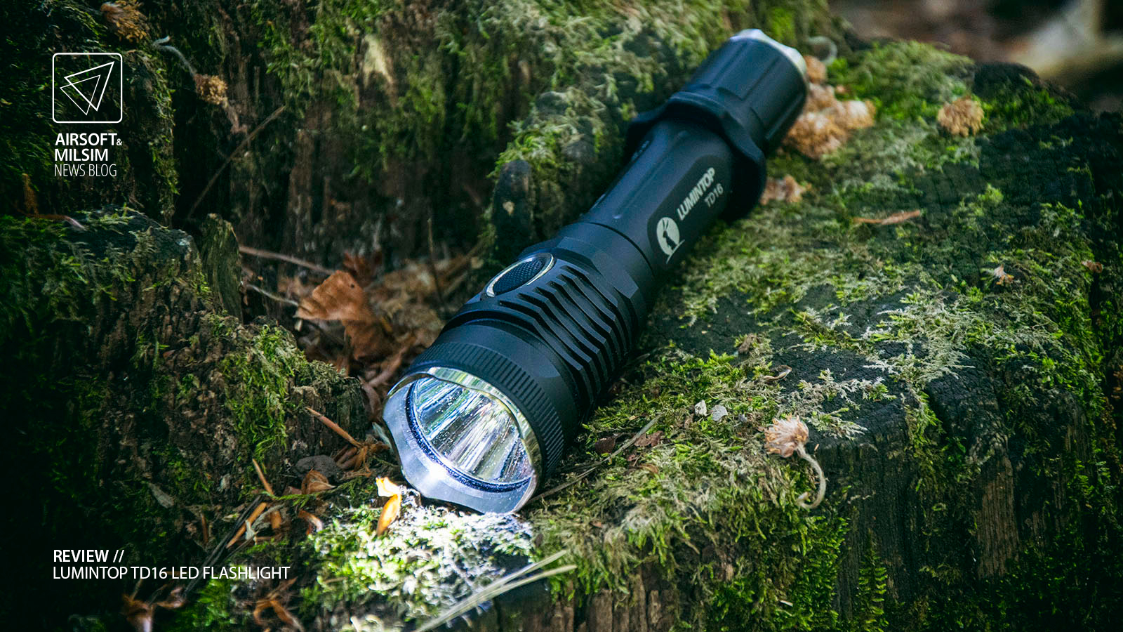 REVIEW LUMINTOP TD16 LED FLASHLIGHT