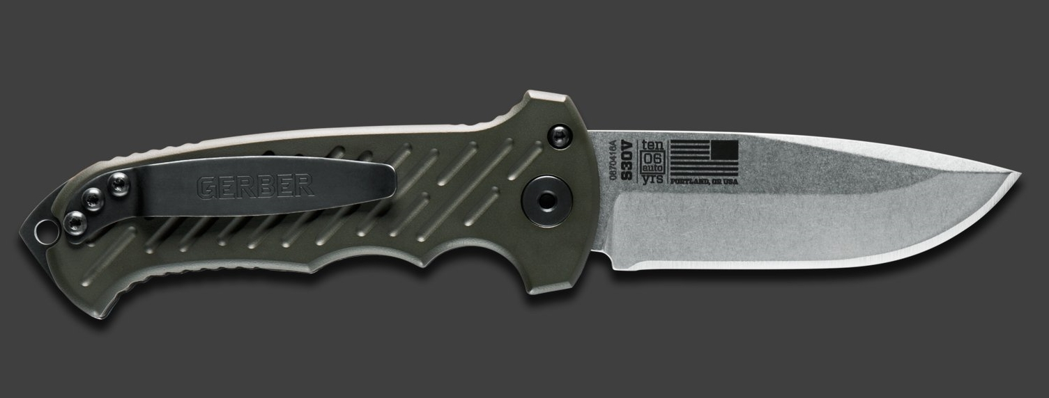 Gerber 06 AUTO Knife 2