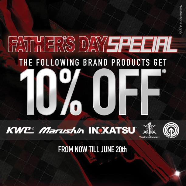 Redwolf Fathers Day Sale