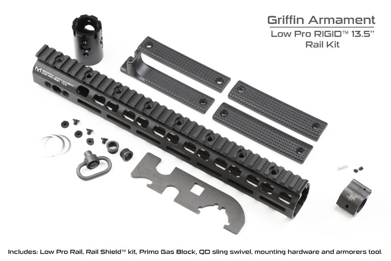 Griffin Armament Low Profile RIGID Rail kits