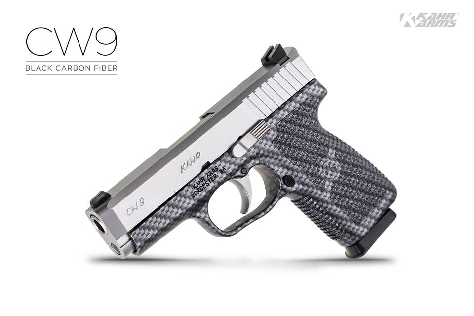 Kahr Arms  CW9 Black Carbon Fiber 2
