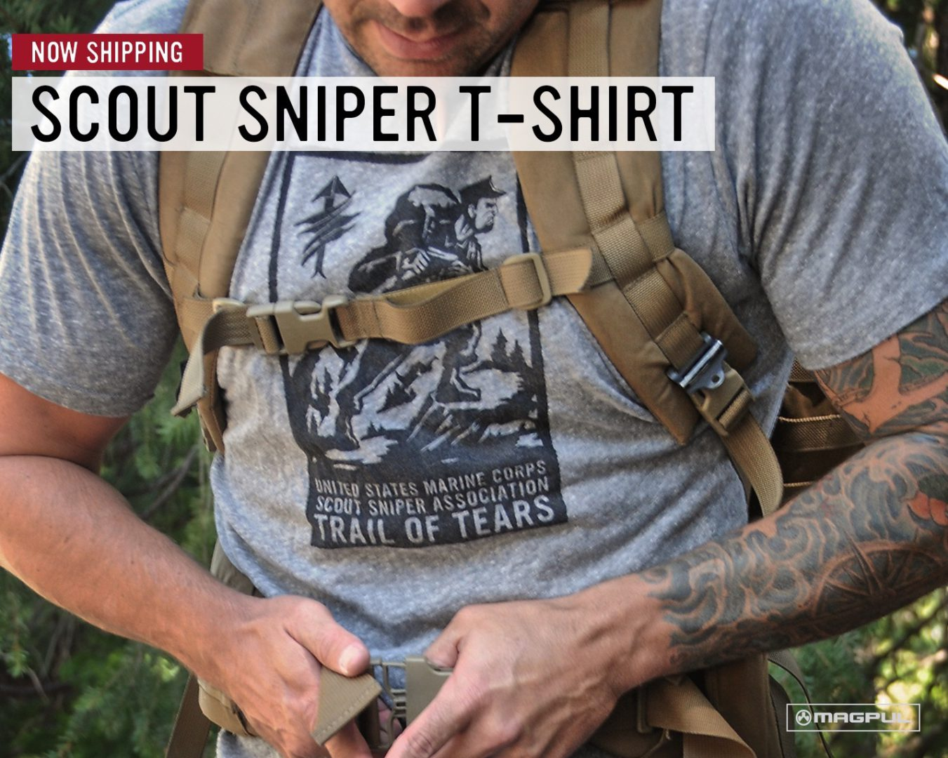 Magpul Scout Sniper Association Trail of Tears T-Shirt