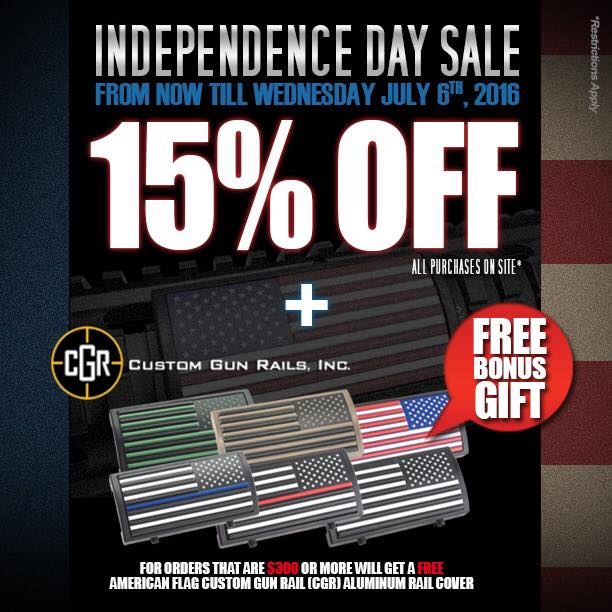 Redwolf Airsoft Independence Day Sale 2