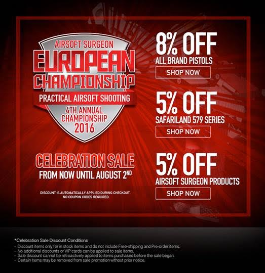Redwolf Airsoft Surgeon European Championship Sale 2