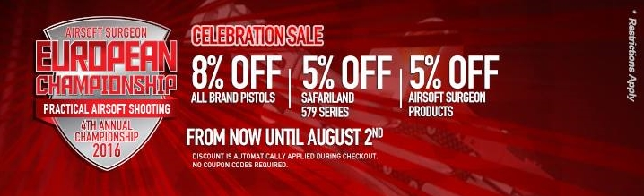 Redwolf Airsoft Surgeon European Championship Sale