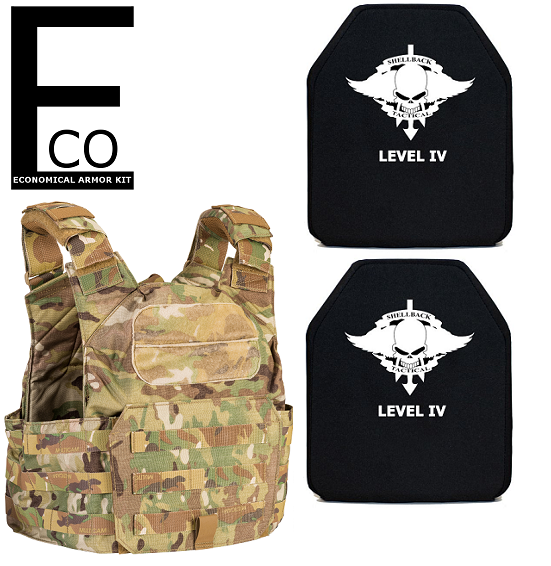 Shellback Tactical - ECO Active Shooter Armor Kit