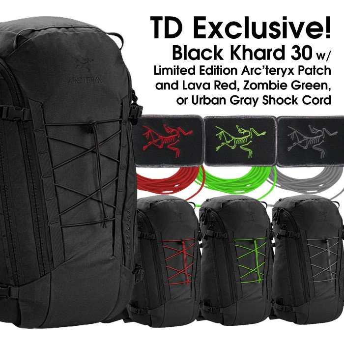 Tactical Distributors Black Khard Backpack 3