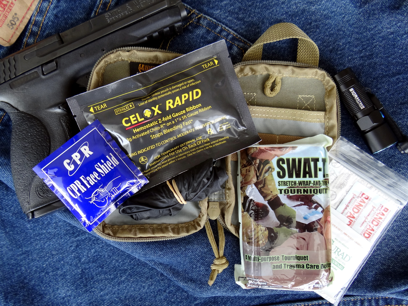 Wild Hedgehog Tactical EDC Pocket Trauma Kit 3