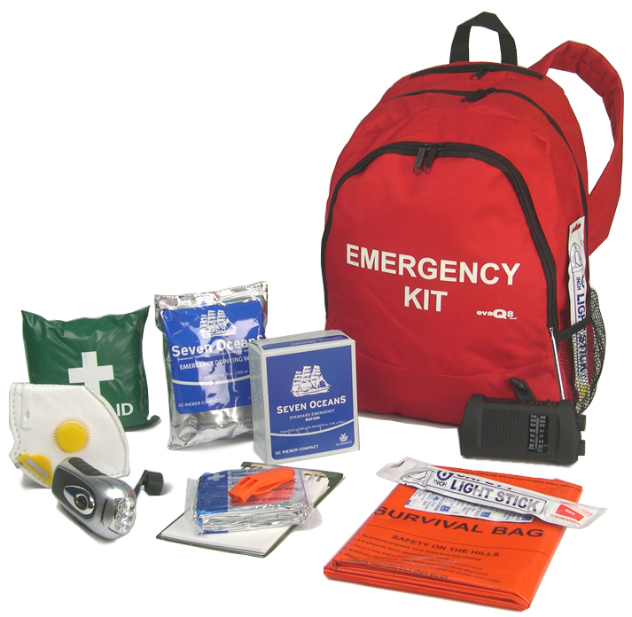 EVAQ8 GoBag Emergency Kit 72hr