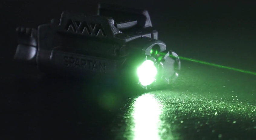 LaserMax Spartan Light and Laser 2
