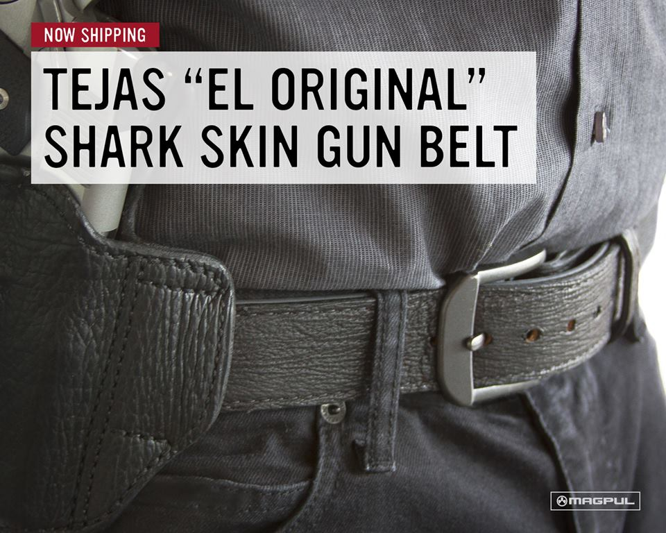 Magpul New Tejas Gun Belt El Original Shark Skin