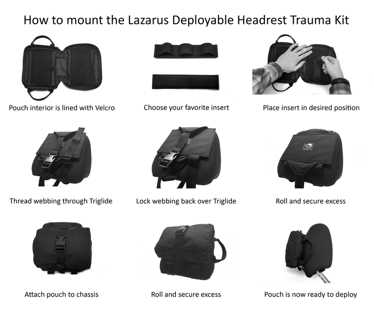 Spiritus Systems Lazarus Deployable Headrest System 4