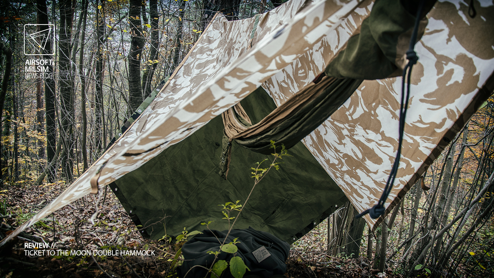 review-tttm-double-hammock-109 & REVIEW - TICKET TO THE MOON Double Hammock - Airsoft u0026 MilSim News ...