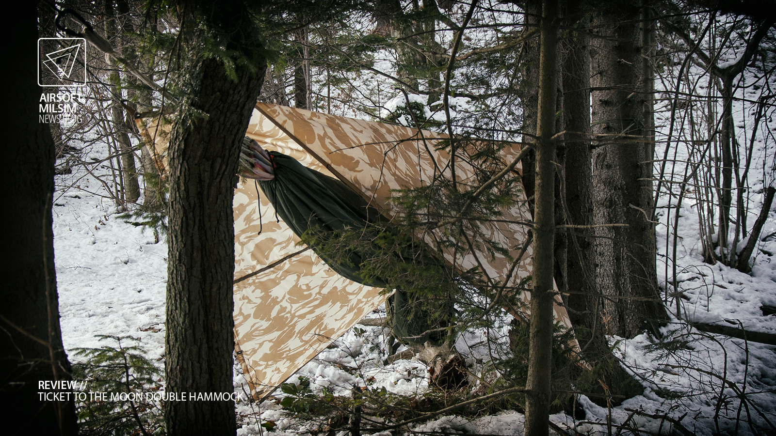Review Ticket To The Moon Double Hammock Airsoft