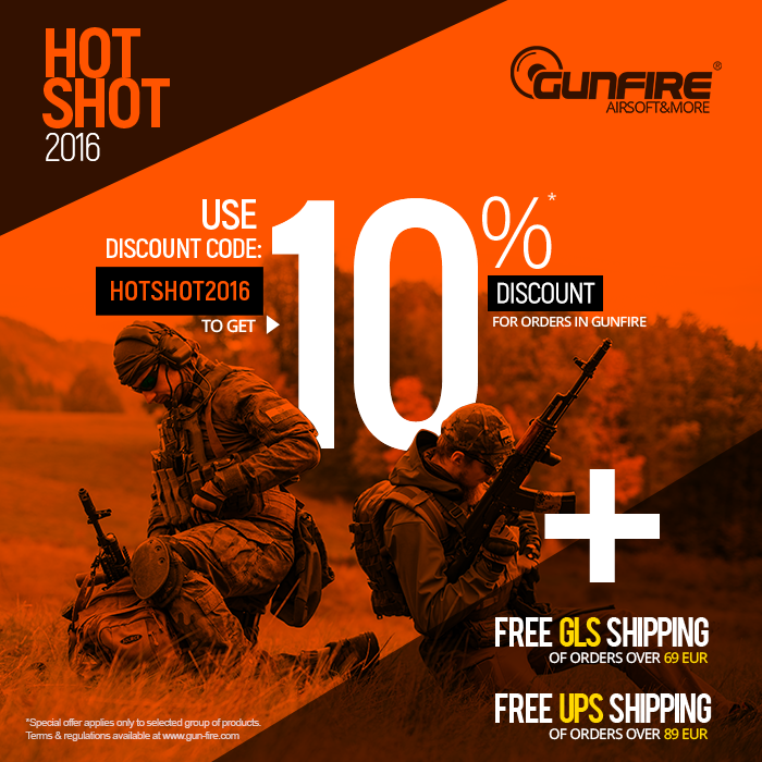 gunfire hot shot sale