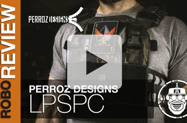 Perroz Designs - Low Profile Slick Plate Carrier