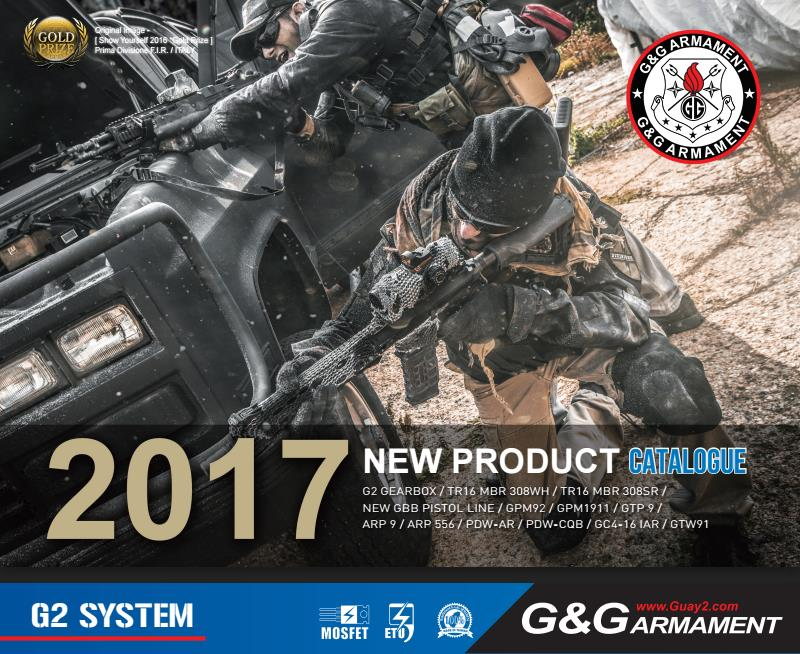 G&G Armament 2017 Product Catalog