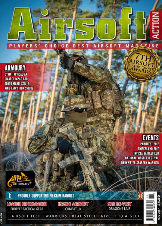 Airsoft Action November 2017 Issue