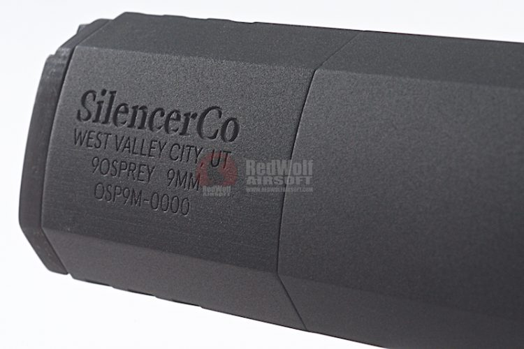SilencerCo Airsoft Osprey Suppressor