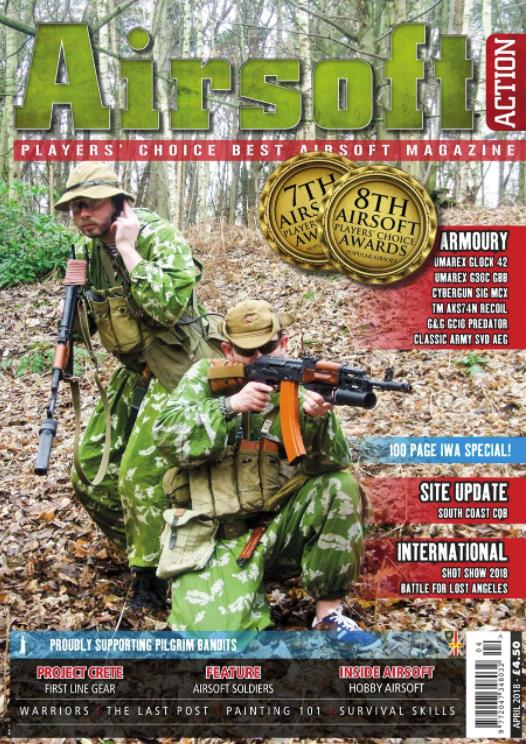 airsoft action magazine april 2018