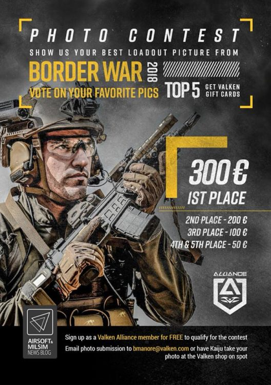 Border War 10 Photo Contest