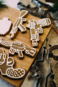 FIREARM COOKIE CUTTERS