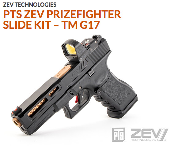 ZEV Prizefighter Slide Kit