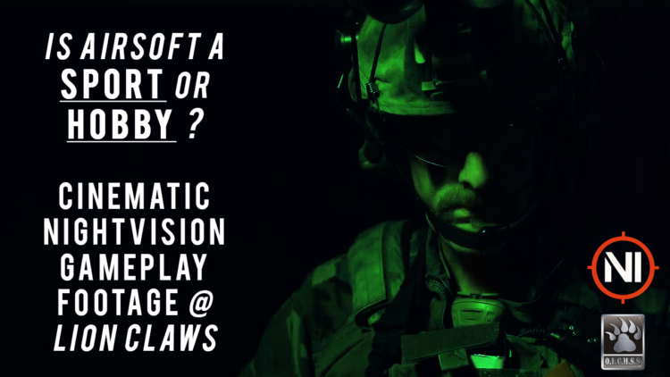 NightVision Gameplay Lion Claws KWA
